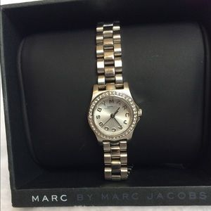 Marc Jacobs Silver Watch!